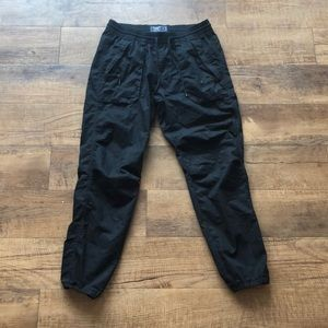 Abercrombie and Fitch Black Jogger Pants Size S